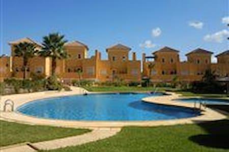 2 Bed Apartment on Valle De Este Golf Resort. - Vera - Wohnung