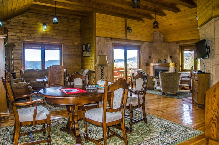 Gacka - Luxury Cottage with Two Rooms and Balcony - Mojkovac - Pousada