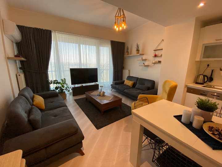 Luxurious 1+1 apartment near Mall of Istanbul