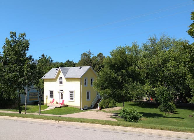 2 bedroom Blacksmith Cottage - Lower Unit.  In the tiny lake-side village of Port Albert!