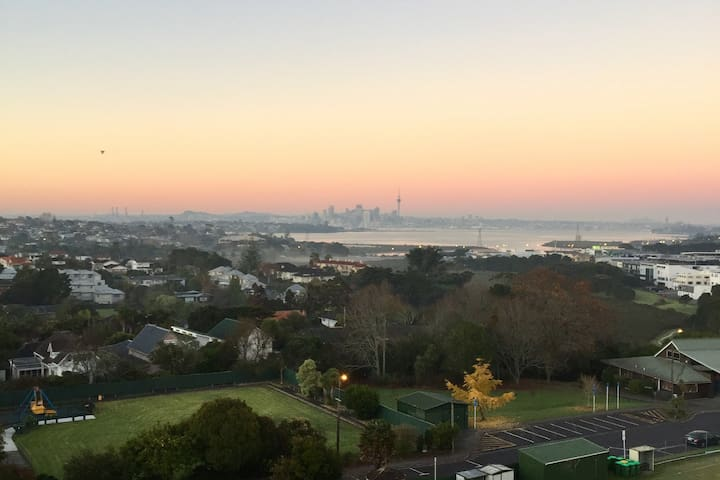 TAKAPUNA top-floor apartment. Stunning views!