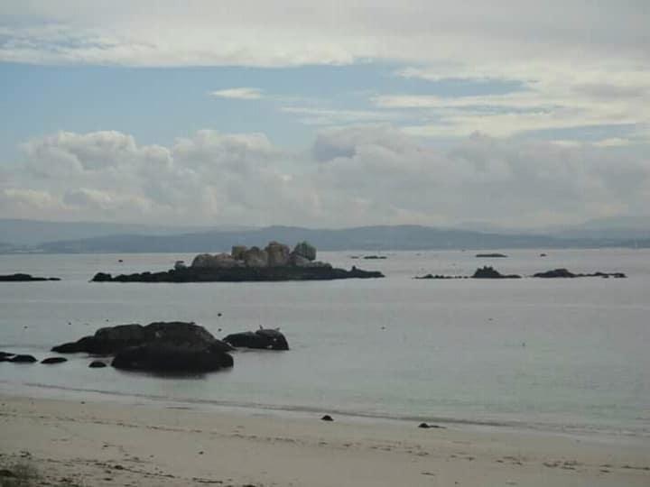 Apartamento en playa del Castro en Ribeira