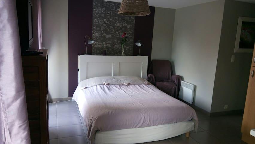 Studio pour 2 ou appart pour 3 ou 4 - Beaucouzé - Apartamento