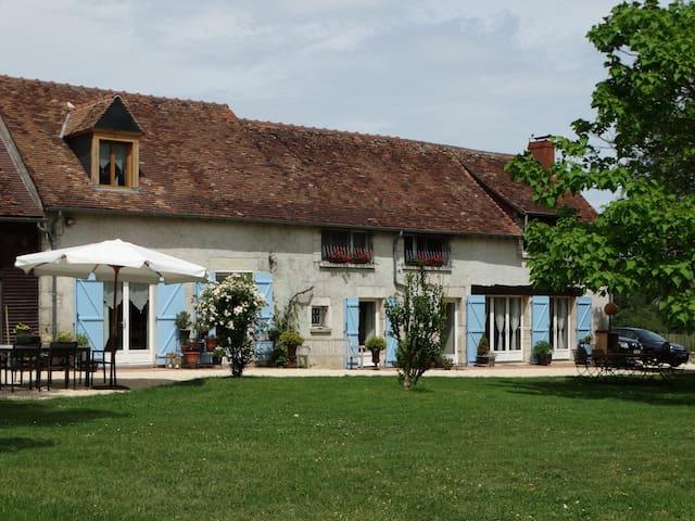 Op het Franse platteland, vlakbij Sancerre.