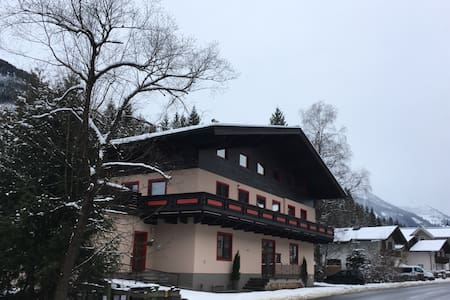 Studio close to Saalbach with riverfront balcony