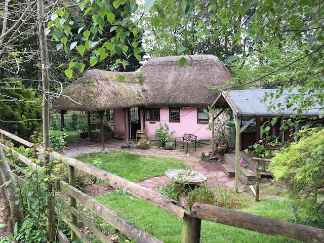 Self-contained cottage with huge garden