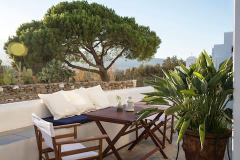 Apollo   Maison de 2 chambres avec terrasse et vue sur la montagne