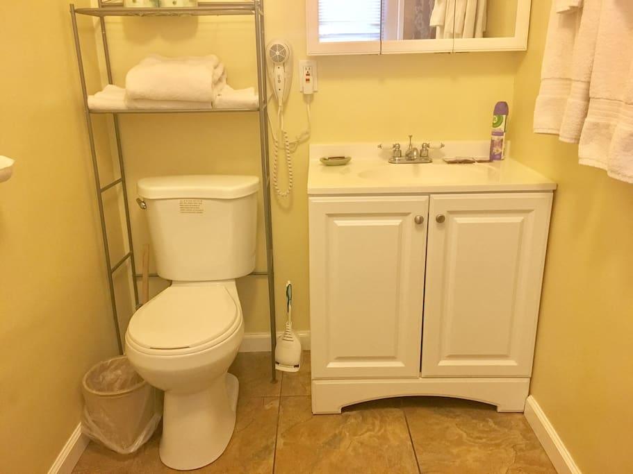 Unit #W1 - Bathroom