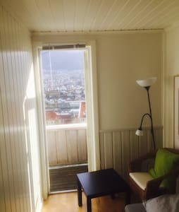 The single balcony room,easy access - Bergen