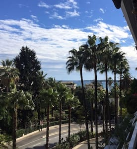 Cannes Centre Appart 4pers Vue Mer - Cannes - Daire