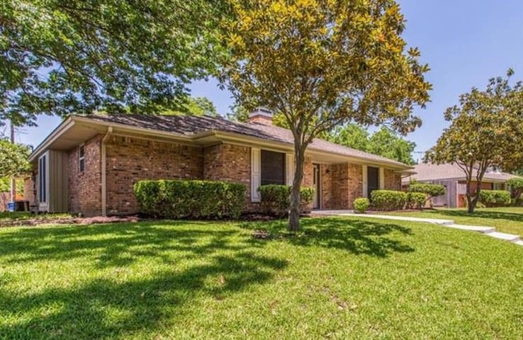 Warm and comfortable home near Downtown McKinney