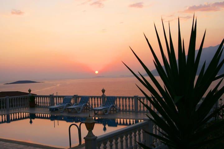ruhiges Zimmer am Meer mit toller Aussicht