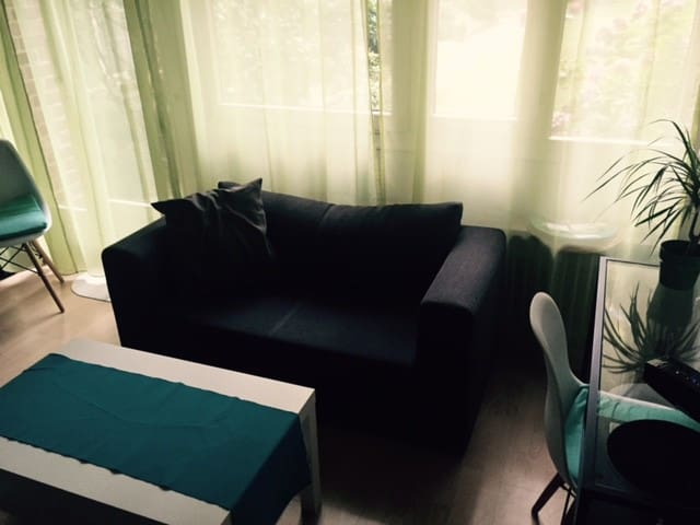 Cosy apartment with terrace, centrally located... - Düsseldorf - Apartemen
