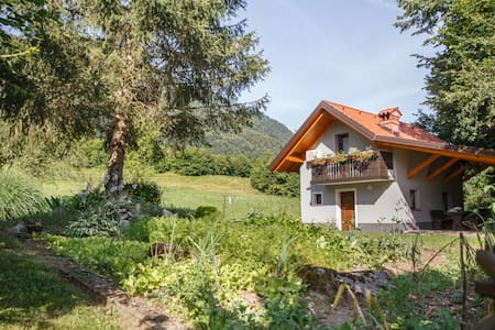 Cottage NA BIRU 1 by the Soca river - Gabrje