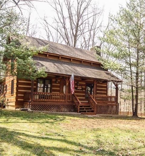 A !!!! retiro isolado Brown County Cabin!!!!