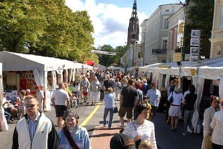 Tilava yksiö keskustasta 2016 Pori Jazzien ajaksi - Pori