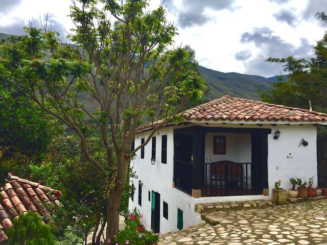 Mini Suite de pareja Dulce Villa, Tranquilidad/Paz - Villa de Leyva - Cabaña