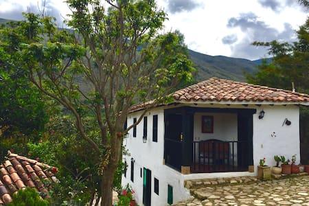 Mini Suite de pareja Dulce Villa, Tranquilidad/Paz - Villa de Leyva - Kabin
