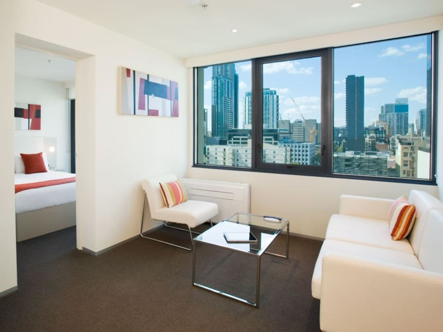 One Bedroom Apartment Cbd Free Wifi Apartments For Rent In Melbourne Victoria Australia
