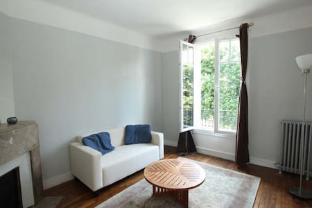 Very nice French appartment in a quiet suburb - Meudon - Apartemen