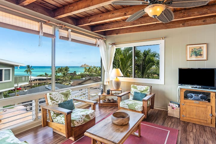 Lanikai Ocean View Cottage