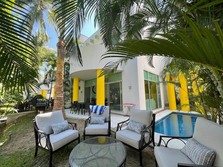 Villa en playa Xcaret Vidanta Acapulco