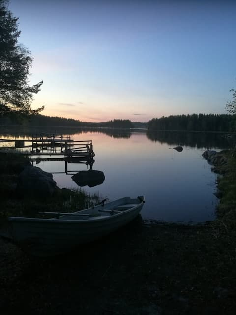 Männikkölä II, Pielisen ranta, Larinsaari, Juuka