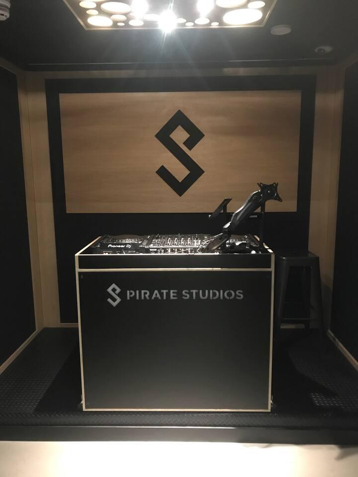 Our Studio for each DJ Workshop
