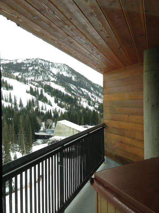 Beautiful views from every balcony.