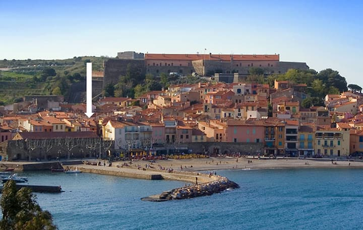 Old Collioure, charming 2rooms Apt, WIFI and AC