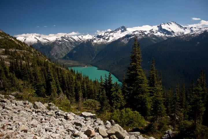 Views in Whistler are breathtaking in the sun or snow, this is the perfect year-round mountain destination.