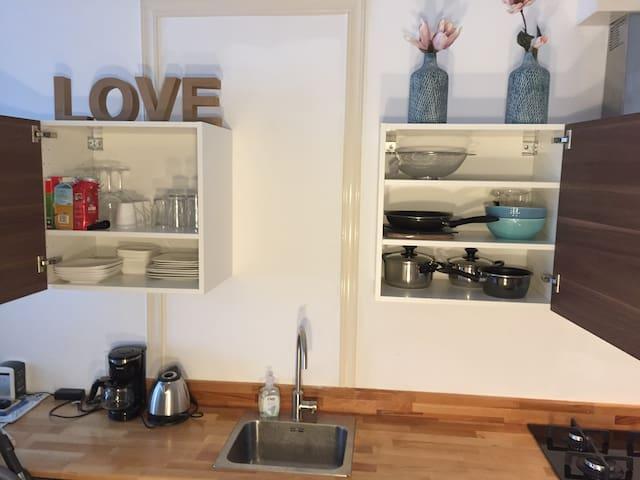 Studio with new kitchen, walk-inn shower, toilet - Роттердам - Квартира