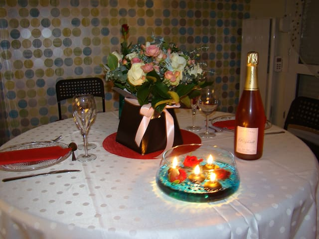 Joli appartement calme au cœur de la Champagne - Épernay - Wohnung