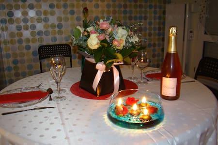 Joli appartement calme au cœur de la Champagne - Daire