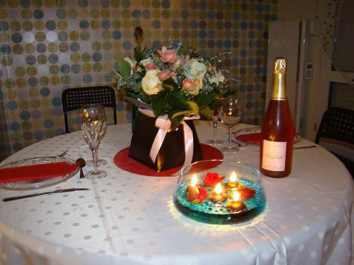 Joli appartement calme au cœur de la Champagne