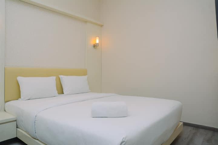 Comfortable and Wonderful 2BR Sudirman Suites Apt