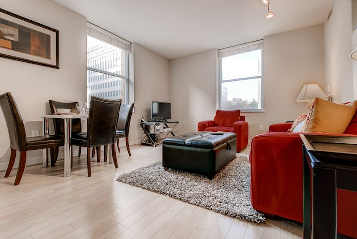 OH! High-End 2 Bedroom near The Capitol, DC!