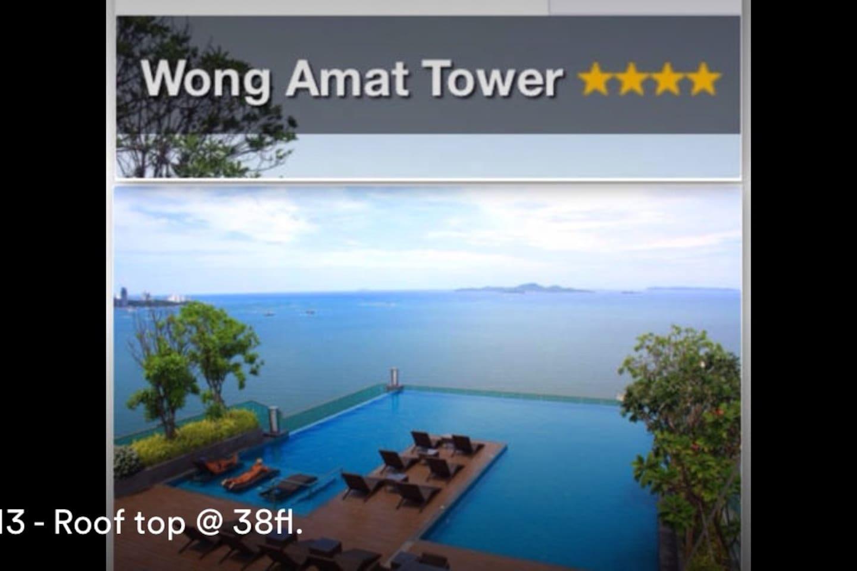 Panoramic Sea & Sky Rooftop Pool