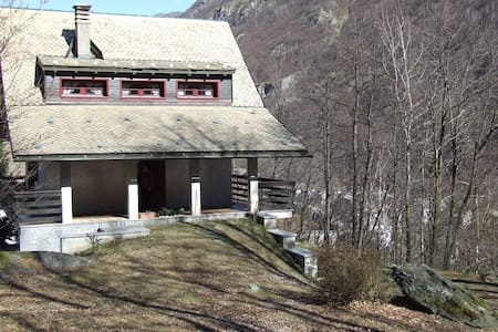 Chalet ai bordi del bosco - Valsesia, Piode  - Chalet