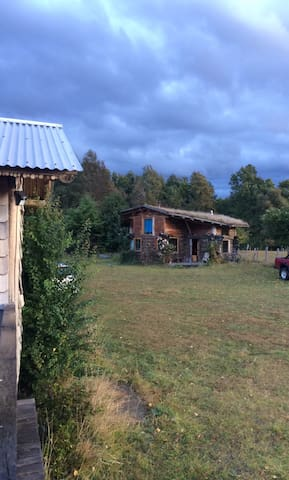 Ruka Rayen Cabin, sunny & charming nature retreat - Pucón - Zomerhuis/Cottage