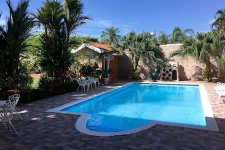 Jardin Tropical, Col Naranjal (Room 2) - La Ceiba - House