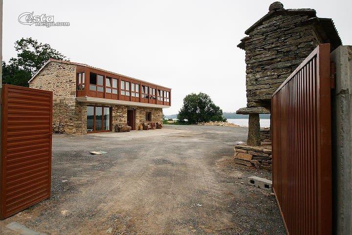 Se alquila casa en un entorno rural - Mazaricos - Casa