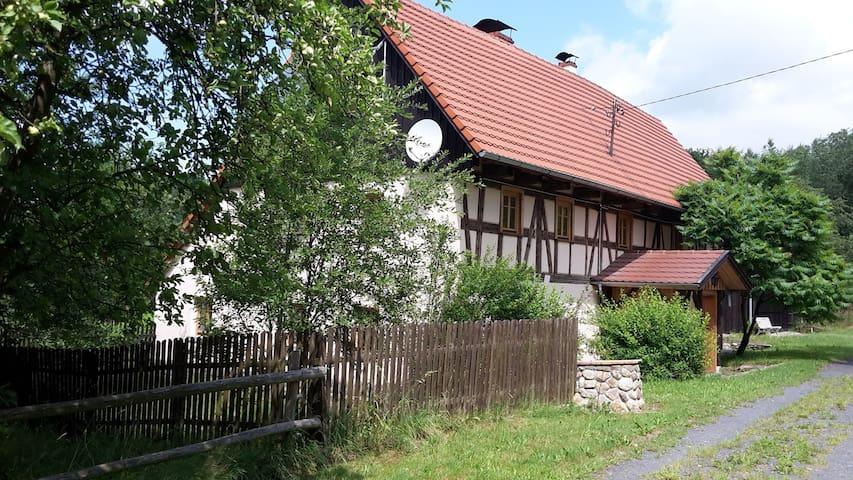 Classy farmhouse in Młyńsko, Poland