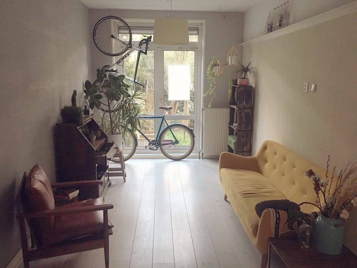 Central located appartment with garden