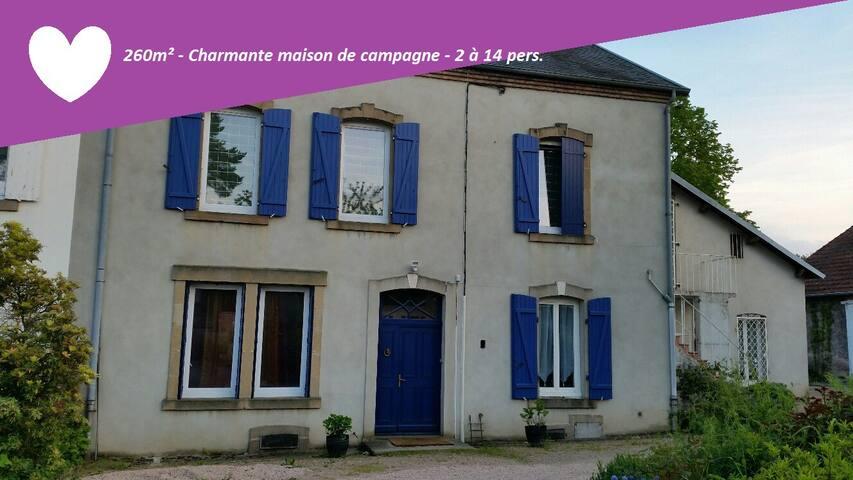 Les tilleuls - Saint-Éloy-les-Mines - Haus