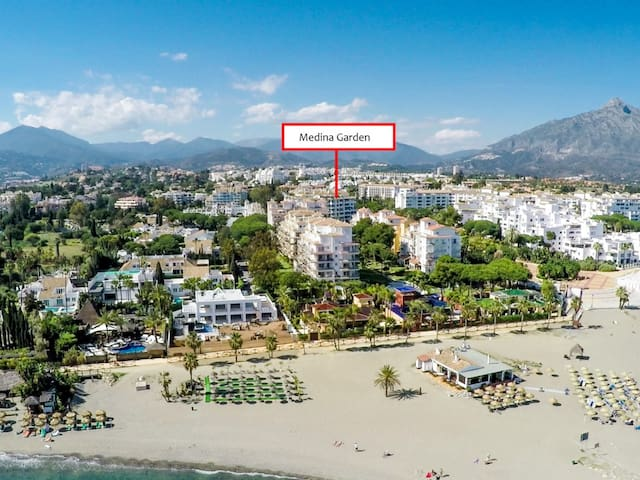 Studio apartment for rent close to the beach in Puerto Banús