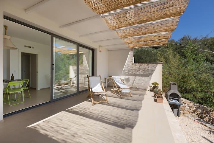 134 Modern House in Santa Cesarea - Santa Cesarea Terme - Lejlighed
