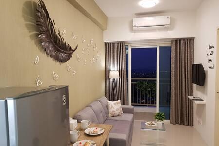 Two Bedrooms Corner Tanglin Apartment Pakuwon Mall