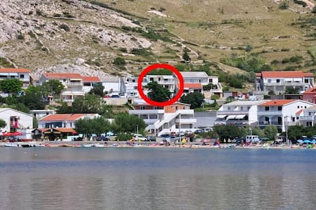 One bedroom apartment with terrace and sea view Metajna, Pag (A-6423-c) - Metajna - Andet
