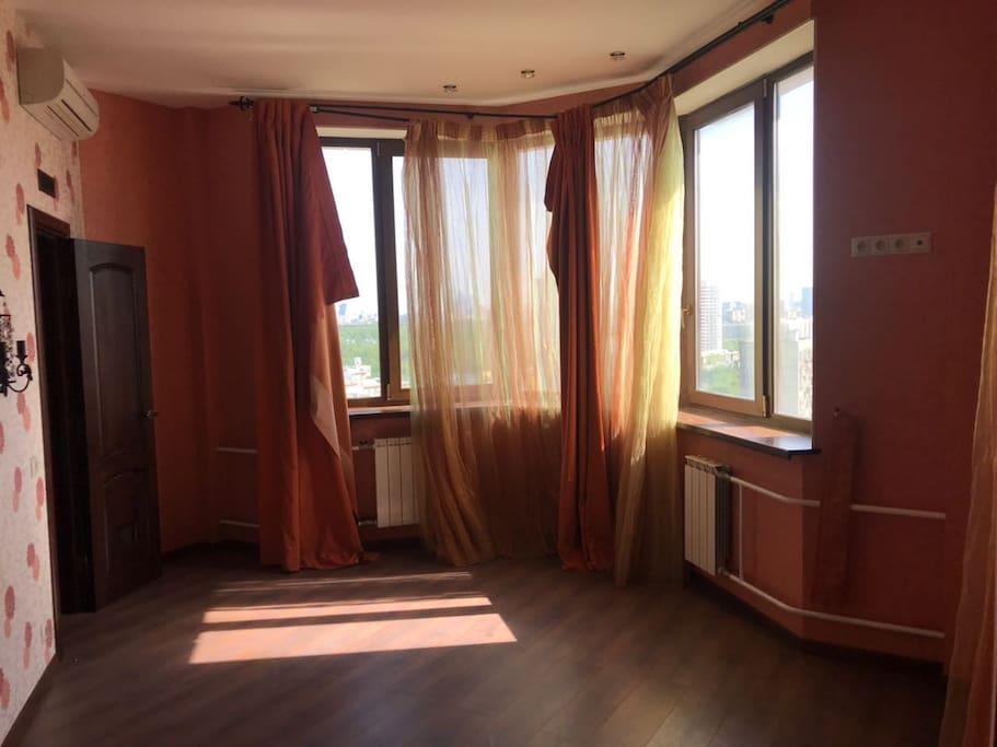 Спальня №1. Будут закуплены кровати по желанию арендатора